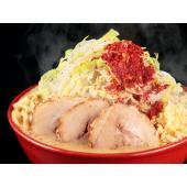 国産の高級豚骨のみを大量にグツグツと煮込んだスープは、ガツンとくる濃厚な豚骨スープで、クリーミーな味...