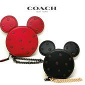 コーチ×ディズニー コインケース ボクシード ミニー マウス COACH Boxed Minnie ...