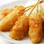 大阪グルメの決定版、大阪新世界の串カツ屋さんの味  ■商品内容  ・冷凍 じゃがいも串かつ 30g×...