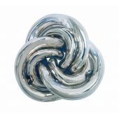 3つのピースはそれぞれ螺旋のボディに2つの突起を持つ。 組んだ状態では各ピースが平面的に一体化してい...