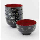 【商品説明】 【五個セットでの販売となります。】  伝統の会津塗りの技法を現代風にアレンジし 食器洗...