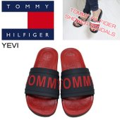 【TOMMY HILFIGER】YEVI  TOMYYの文字と星柄の可愛いシャワーサンダル ビーチや...