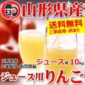 ■商品名:ご家庭用 山形県産 サンふじ リンゴ(ジュース・スムージー用) ■商品内容:1箱 約10k...