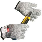 子供用の防刃手袋!お子様の大切な手を守ります! カッターやスコップなど刃物や切れそうなものから守りま...