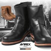AVIREX アビレックス AV2225 HORNET ショートエンジニアブーツのご紹介です。 品名...