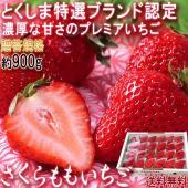 ◆高品質な苺の栽培適地!徳島県屈指の苺産地「佐那河内村」  佐那河内村は「さくらももいちご」を日本で...