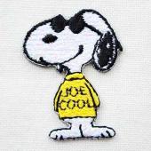 ヴィンテージスヌーピー シールアンドアイロンパッチ(ジョークール) / Vintage Snoopy...