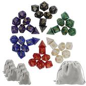 素材:アクリル パッケージ内容:6セットダイス、6個小さなダイスバッグ、1個大きなベルベットバッグ ...