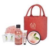 ピンクグレープフルーツの香りで「洗う」「潤す」ボディケアの基本アイテムを楽しめるエントリーセット。ザ...
