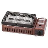 ●サイズ(約):幅409×奥行214×高さ131mm ●直火を使わず、赤熱させた輻射板の熱で焼くので...