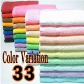 使い易さを第一に厳選された高級綿糸を使用!日本製♪ すっきりとした肌触りのきれいなカラータオル! 楽...