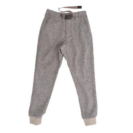 [グラミチ] Bonding Knit Fleece Narrow Rib Pants Gup-18f016 Oatmeal X Taupe 日本 F-(free サイズ)