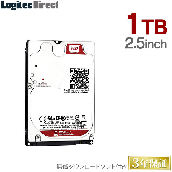 Western Digital 2.5インチ内蔵hdd 1tb Sata6.0gbs Intellipower 16mb 9.5mm厚 Wd10jfcx