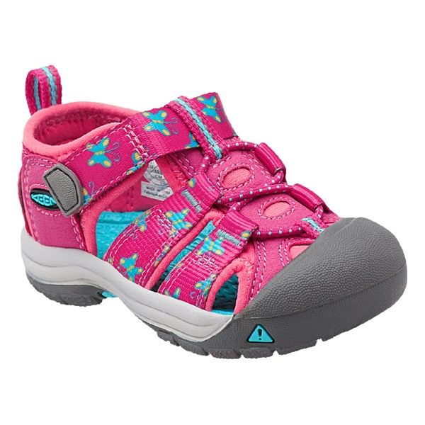 off Vic2セール キーン Keen Tots Newport H2 Veryberrybutterfly ニューポートH2 キッズ サンダル 子供用